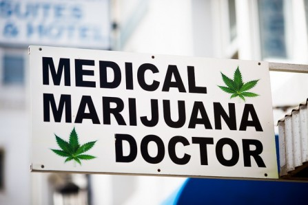Medical Marijuana Specialist Sign