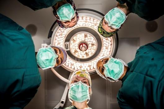 Surgeons Staring Down
