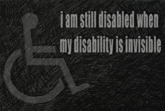 Invisible Disability is Still a Disability