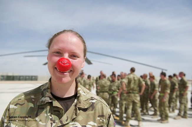 Red Nose Army Member Afghanistan