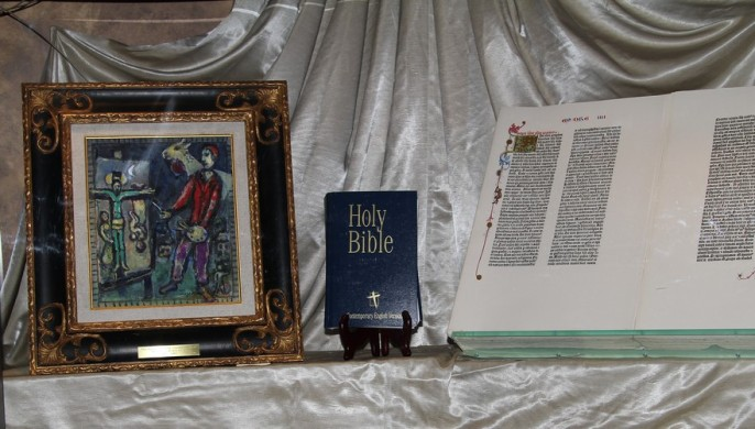 Bible and Painting